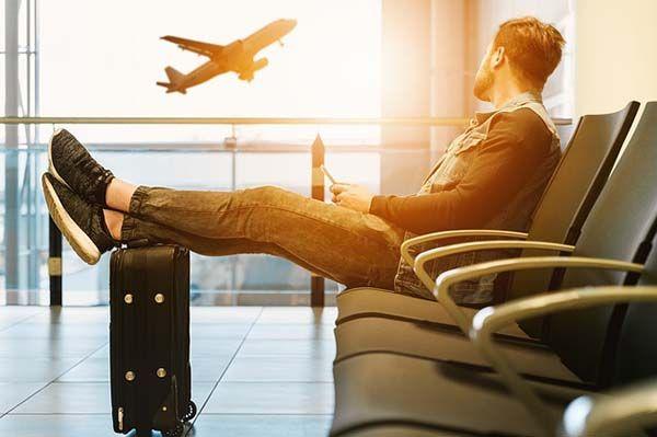 Foto de Viajar en avión