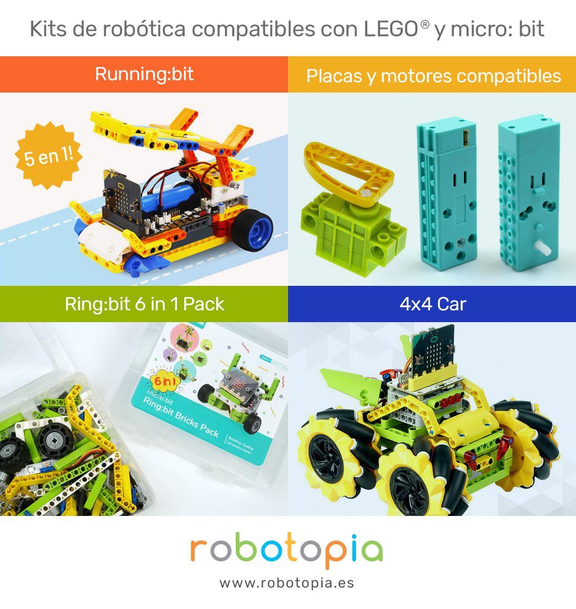 Foto de Kits de robótica compatibles con LEGO y micro:bit