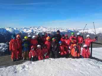 El Club de Escuela de Ski Baqueira