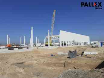 Foto de Imagen de la construcción del Hub de San Fernando de Henares