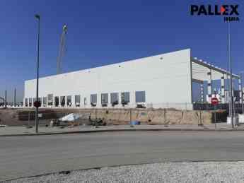 Foto de Vista del Hub de San Fernando de Henares en construcción