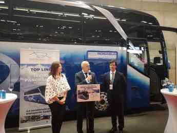 Rosabus celebra su 25 aniversario con la presentación en FITUR del vehículo TOP LINE