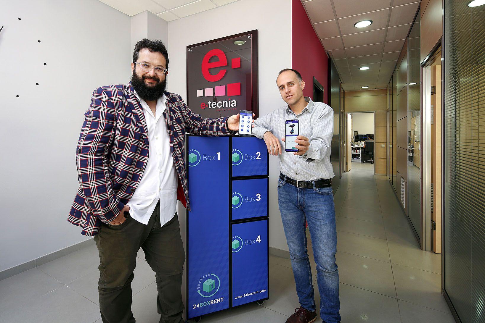 24boxrent, herramienta creada por E-tecnia, gana el premio al Mejor Producto Digital Retailtech 2019
