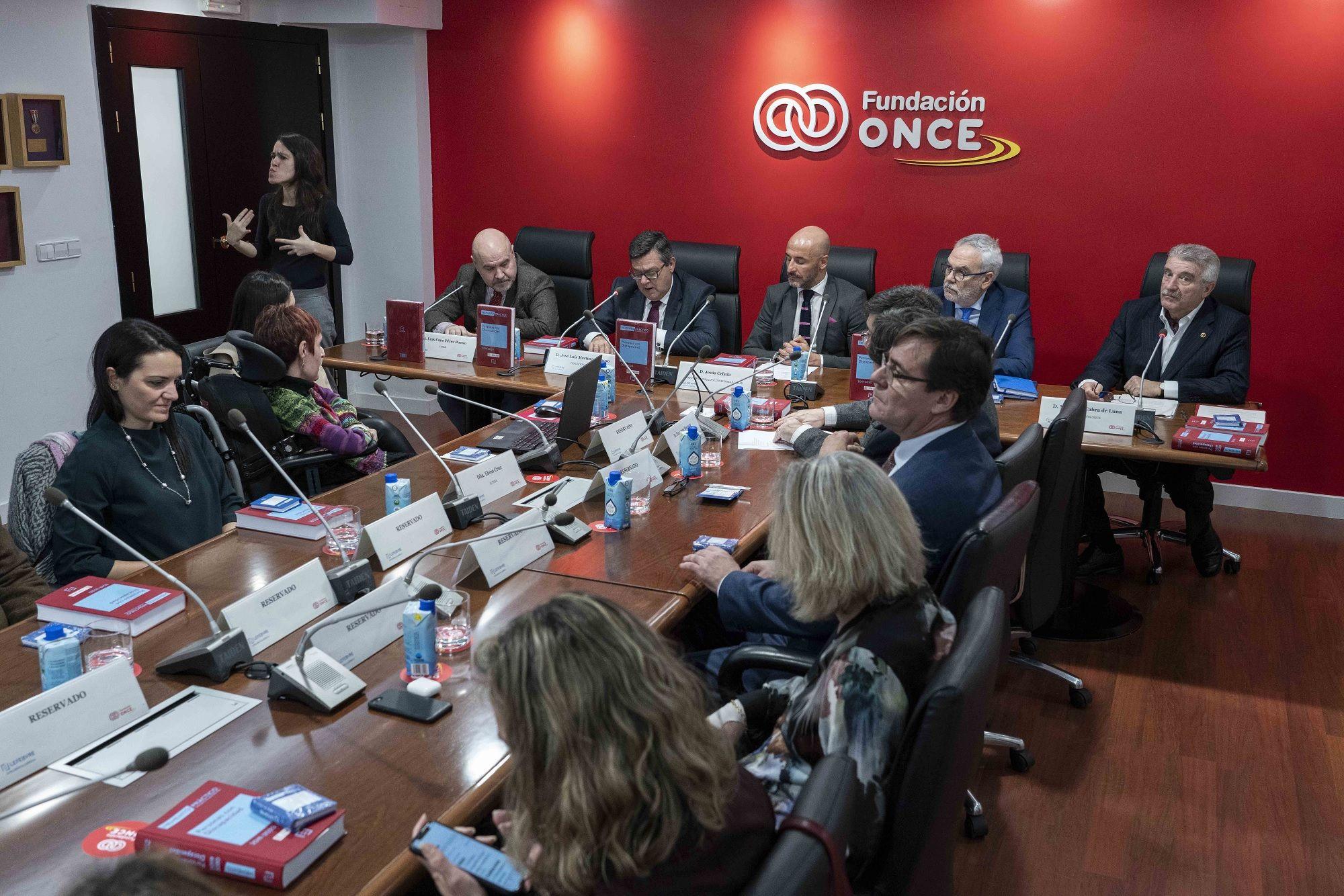 Foto de Fundación ONCE y Lefebvre