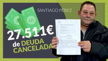 Foto de Santiago Perez, cliente de Repara tu deuda abogados cancela