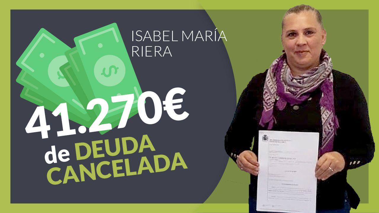 Repara tu deuda Abogados cancela 41.270 ? a una mujer de Mallorca mediante la Ley de la Segunda Oportunidad