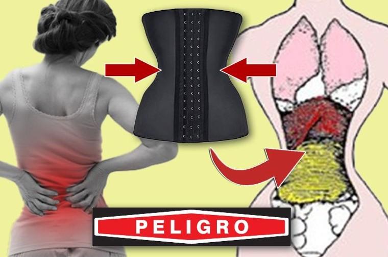 El uso de fajas femeninas o body shapers es un riesgo para la salud, comenta la Dra. Melissa Hague.
