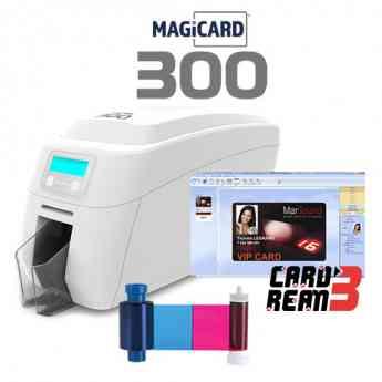 Nueva impresora de tarjetas PVC Magicard300
