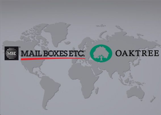Mail Boxes Etc. anuncia un acuerdo con Oaktree