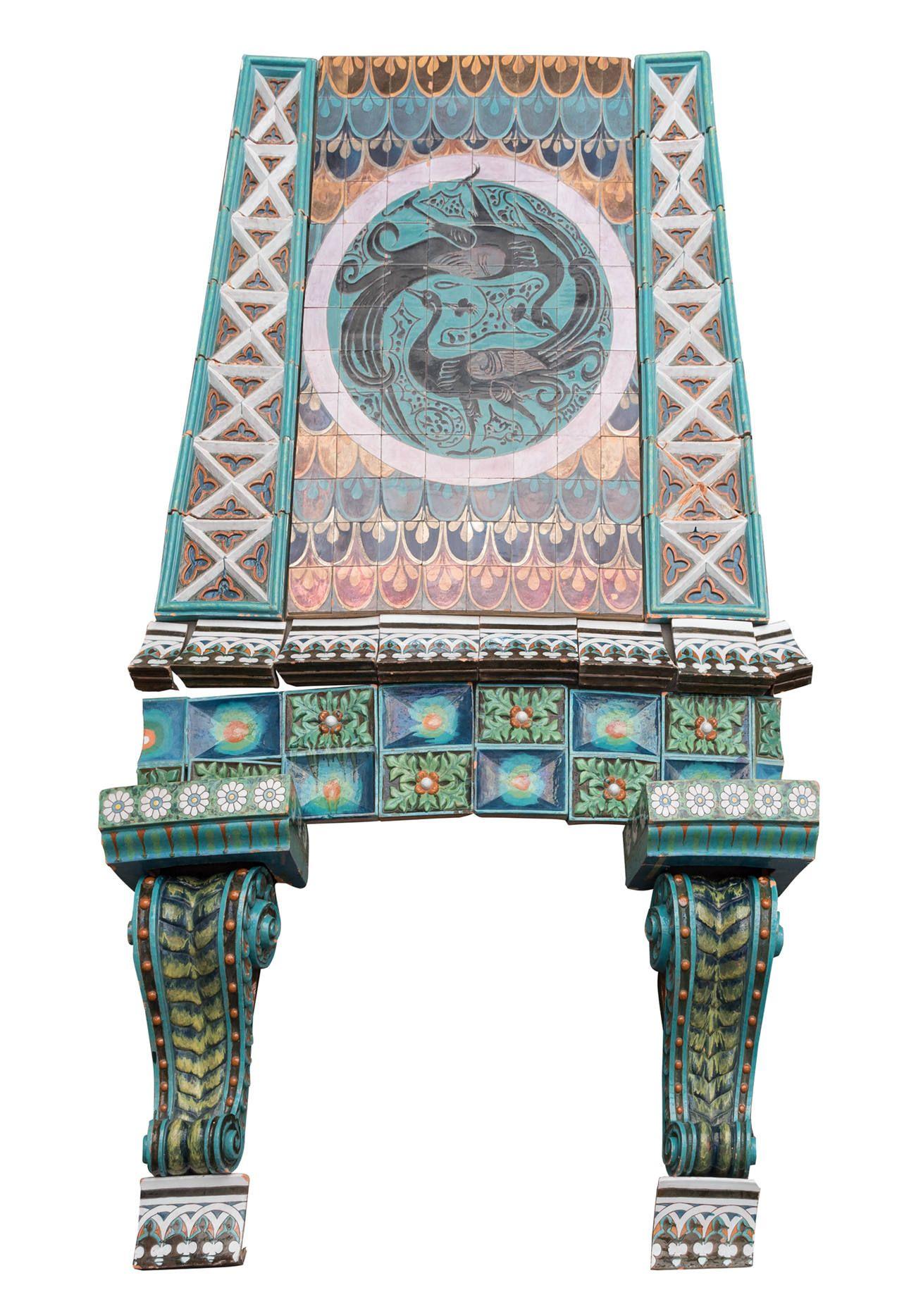 Foto de Chimenea; serie orientalizante, España, finales del siglo