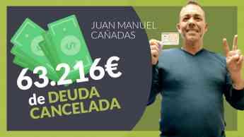 Juan Manuel cliente de Repara tu deuda abogados cancela todas sus deudas