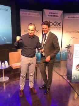 El Dr. Garmendia recogió el premio en nombre de Policlínica Gipuzkoa