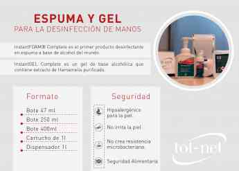 Foto de Desinfectantes de manos