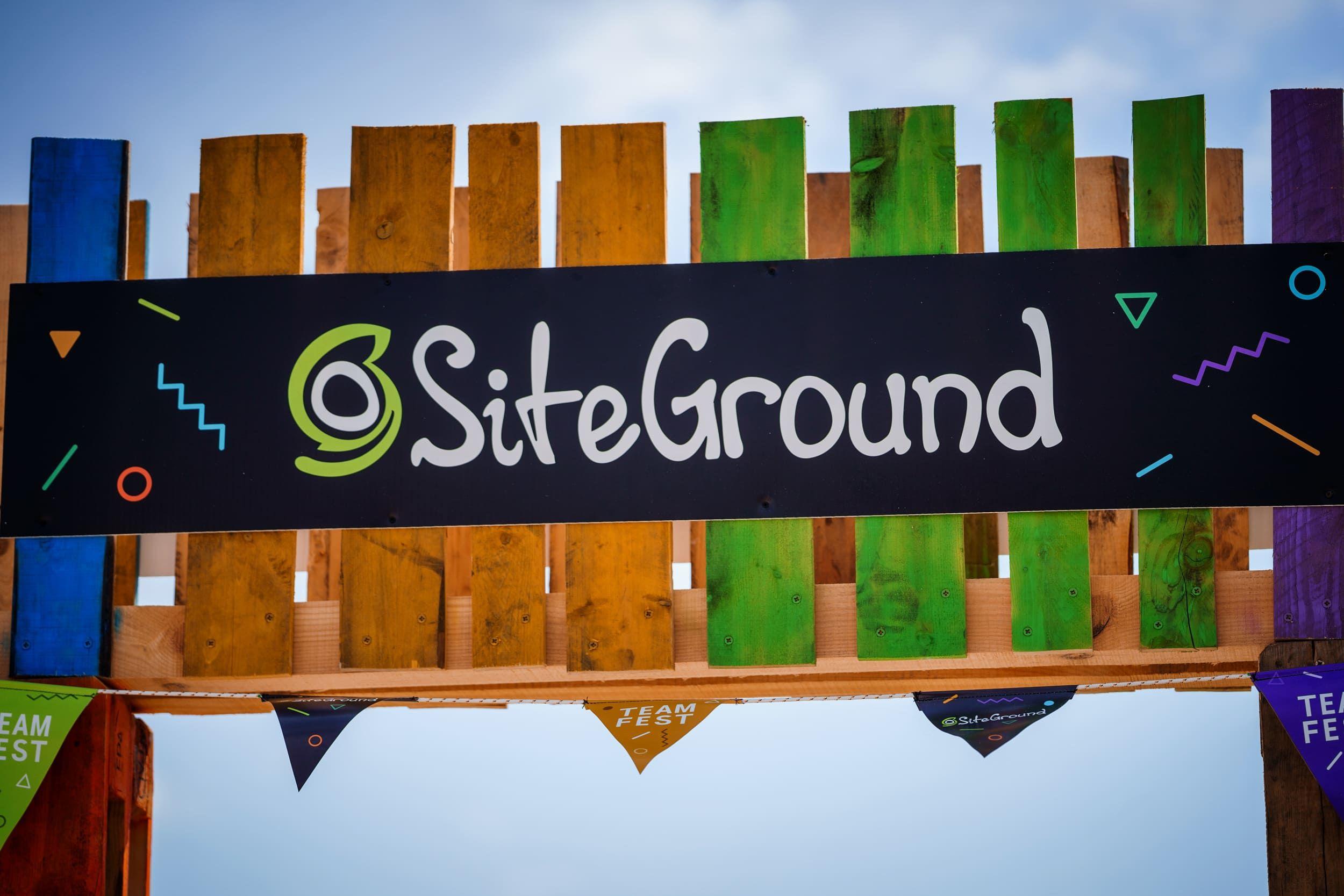 Foto de SiteGround party
