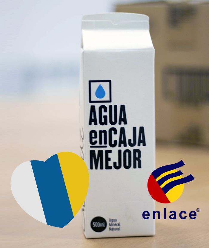 El Agua en Caja llega a Canarias de la mano de ENLACE,