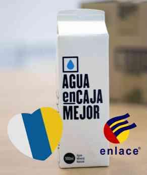 Agua en caja Canarias