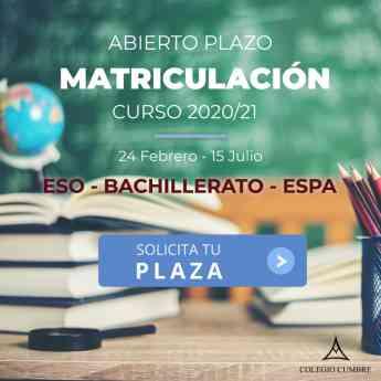 matriculación Colegio Cumbre