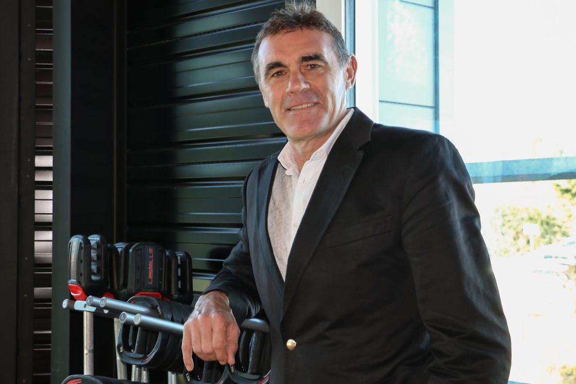 Foto de Christophe Andanson es el presidente y CEO de Les Mills