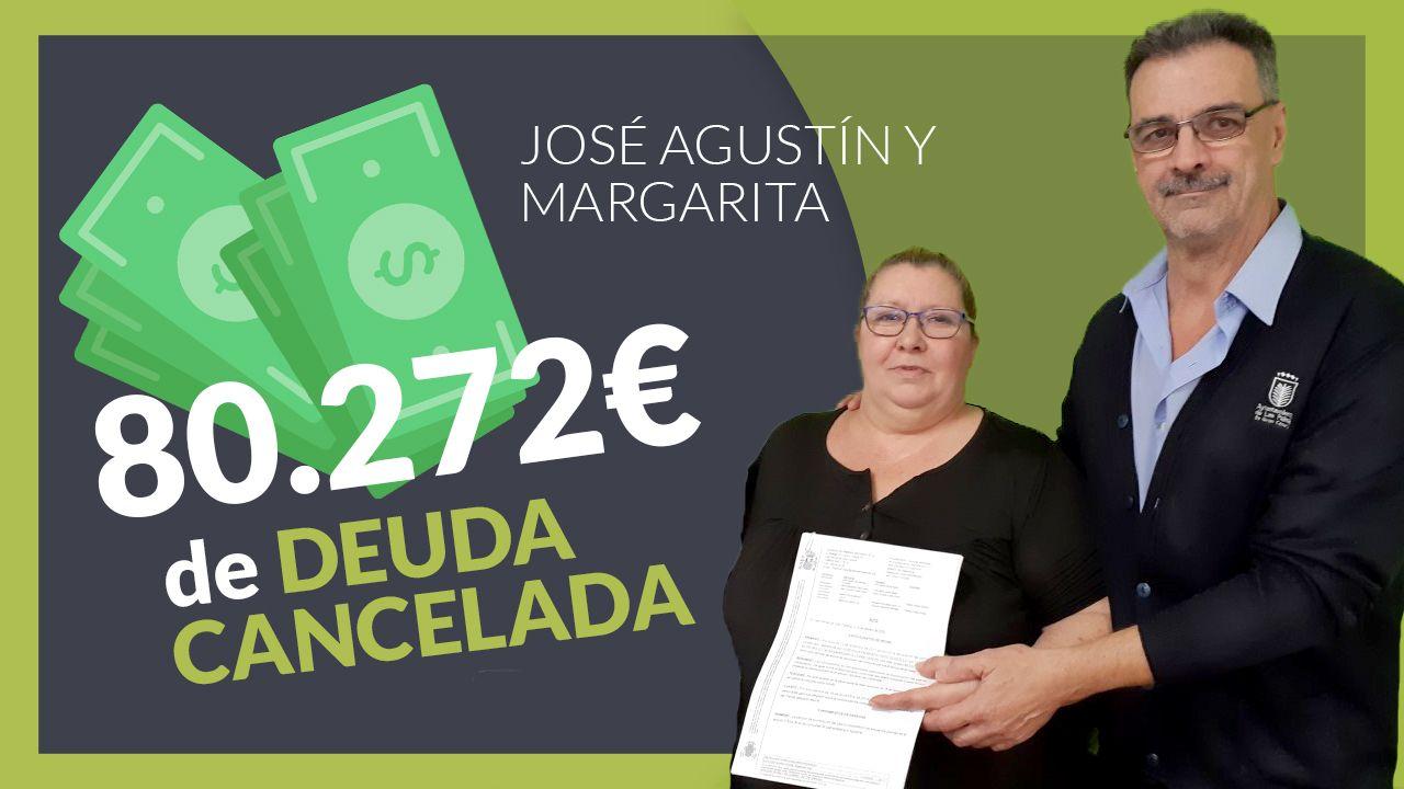 Foto de Jose y Margarita clientes de Repara tu deuda abogados