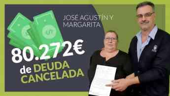 Jose y Margarita clientes de Repara tu deuda abogados cancelan su deuda con la Ley de la Segunda Oportunidad
