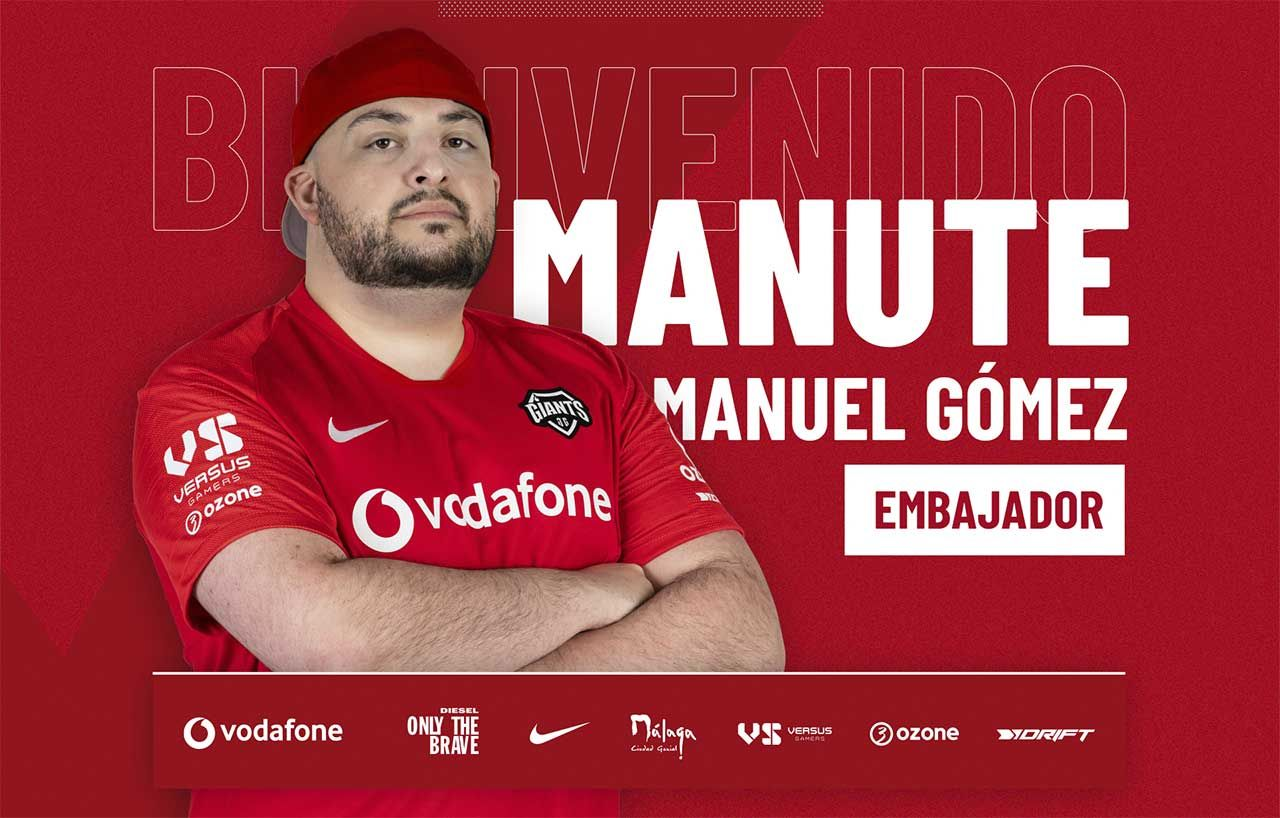 Manute se convierte en brand ambassador de Vodafone Giants