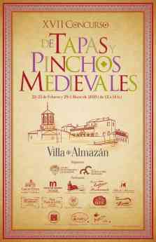 Cartel XVII Concurso de tapas y pinchos medievales
