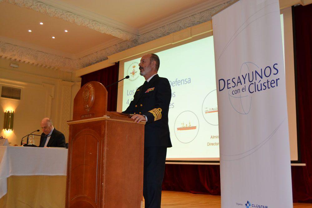 Foto de Desayuno con el Almirante Santiago González