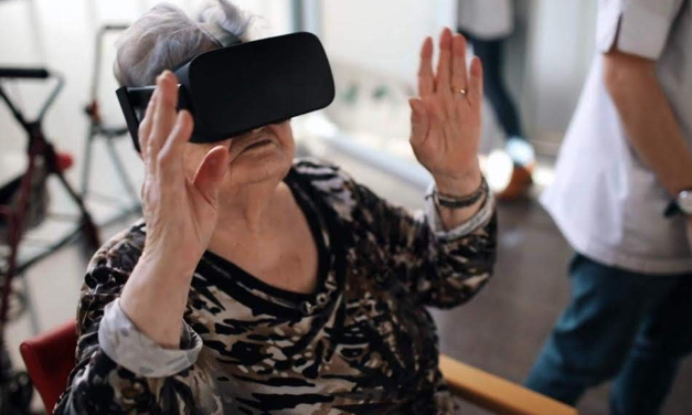 Evoca utiliza Realidad Virtual aplicada a la salud para recrear momentos pasados en los abuelos unicornio