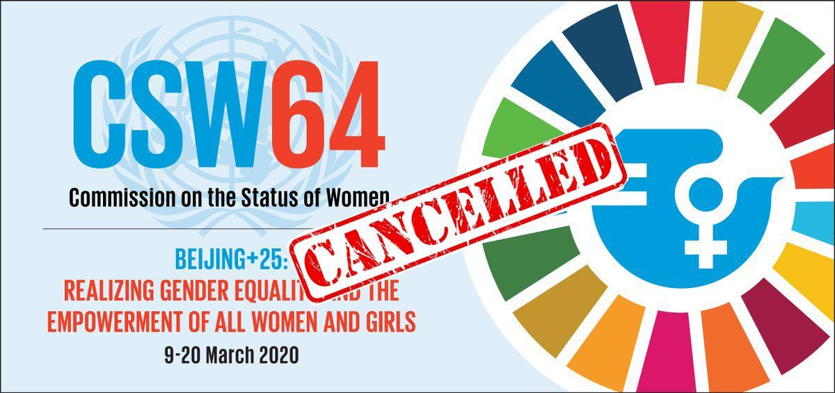 Foto de  64 Sesion de la Condición Jurídica y Social de la Mujer
