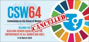 64 Sesion de la Condición Jurídica y Social de la Mujer