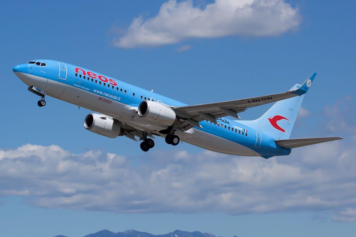 Foto de Imagen de avión de Neos