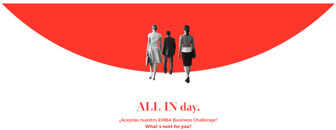 EAE Business School organiza All in day EMBA ? Business Challenge para ganar una beca para el Executive MBA