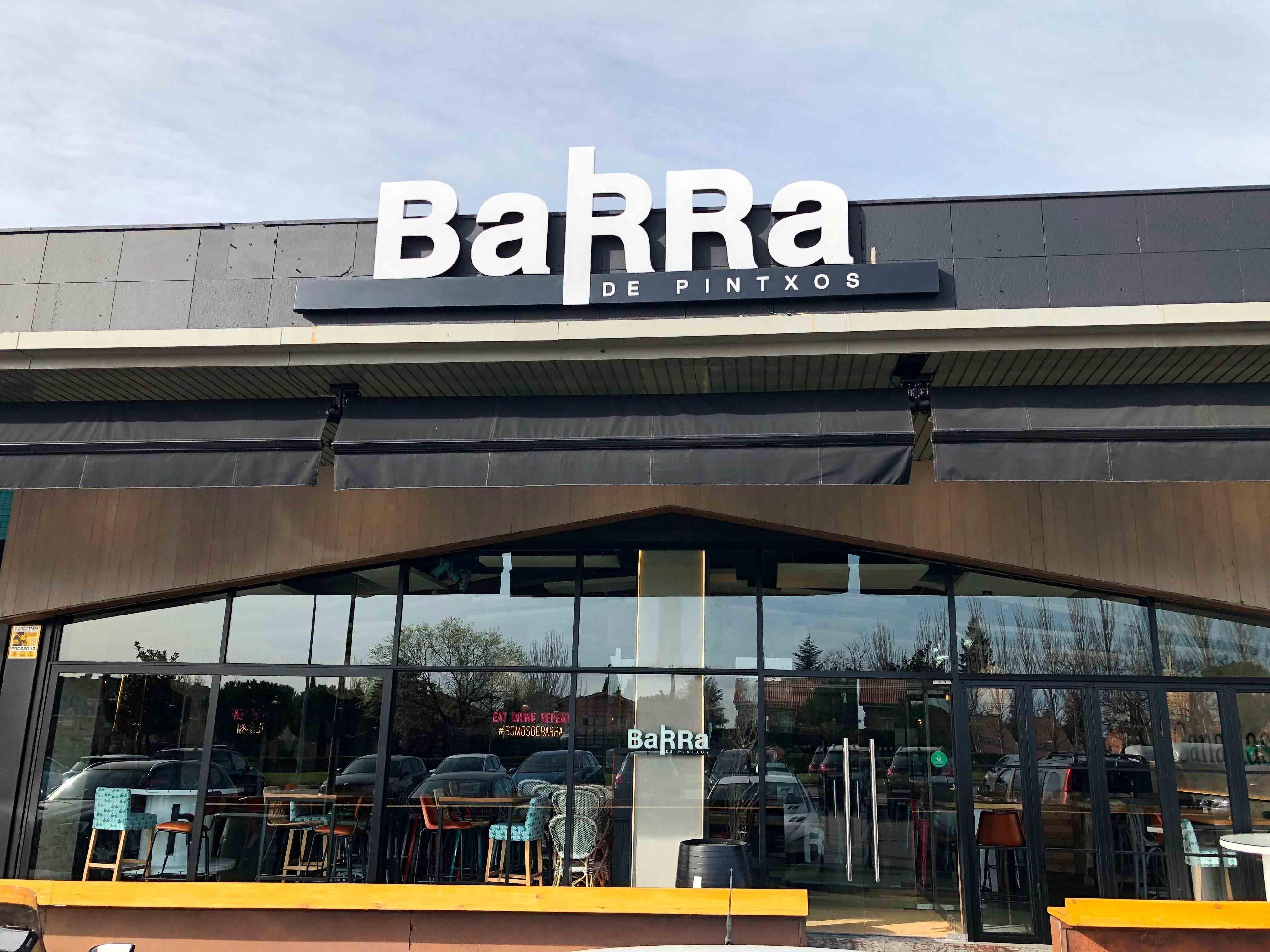 BaRRa de Pintxos inaugura otro nuevo establecimiento en una de las mejores zonas de Majadahonda