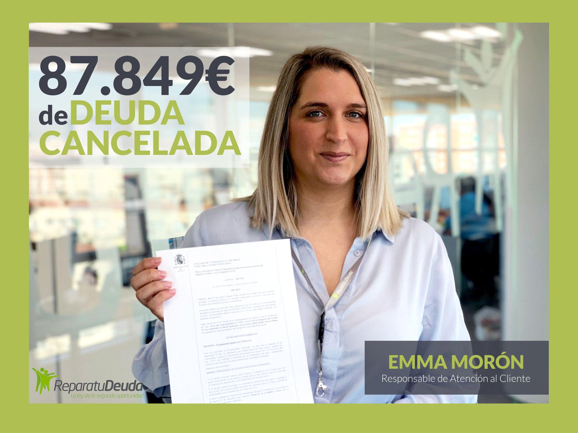 Repara tu deuda Abogados cancela 87.849 ? a un vecino de Barcelona con la Ley de Segunda Oportunidad