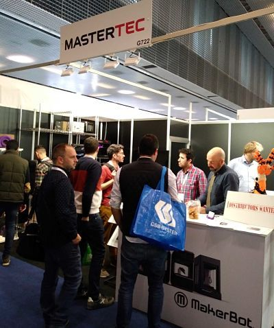 Foto de Mastertec en la Feria Advanced Factories