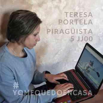 Teresa Portela - Piragüista penta olímpica