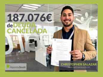 Christopher Salazar, supervisor experto en la Ley de la Segunda Oportunidad en Repara tu deuda abogados