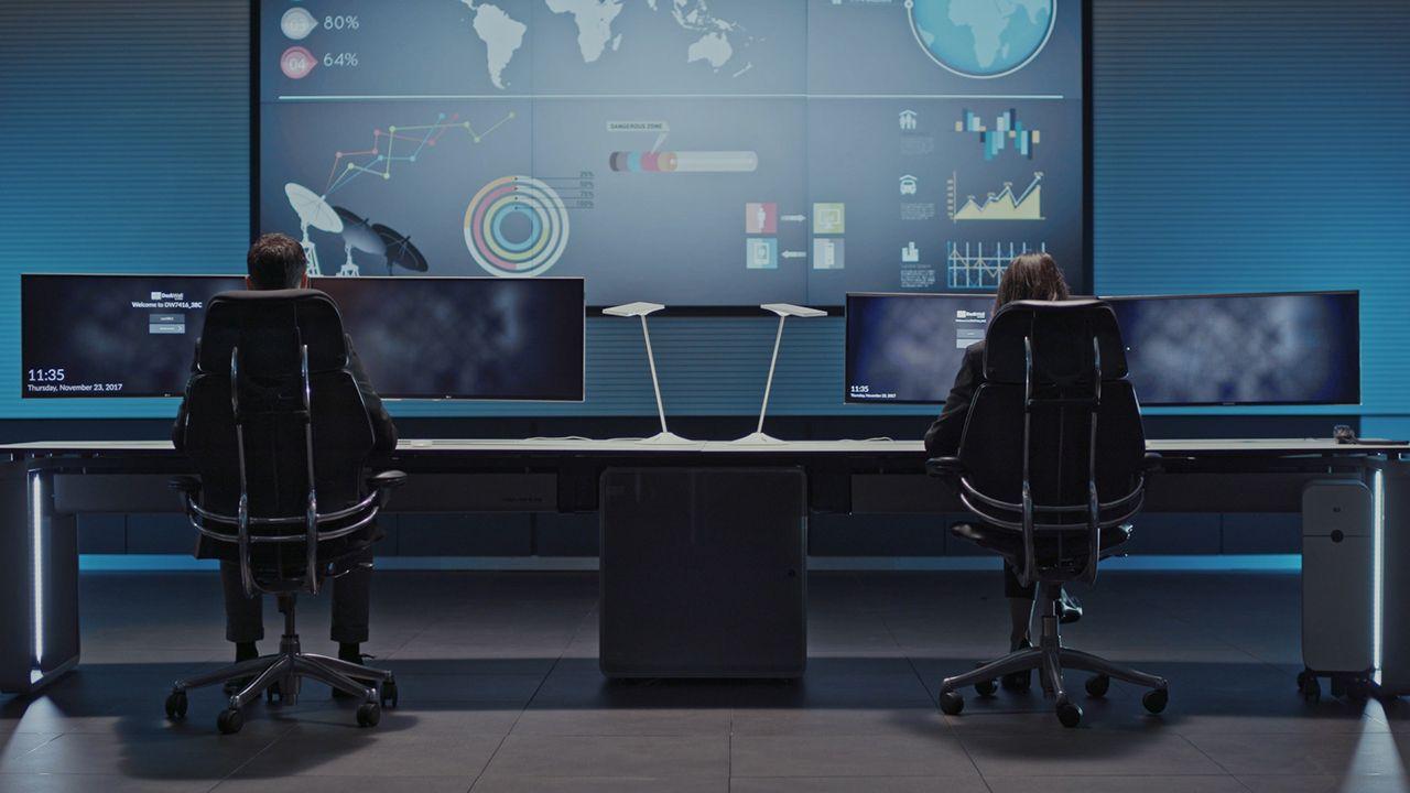 Fotografia Centro de control operativo de GESAB