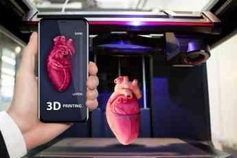 Foto de Corazón en Impresora 3D