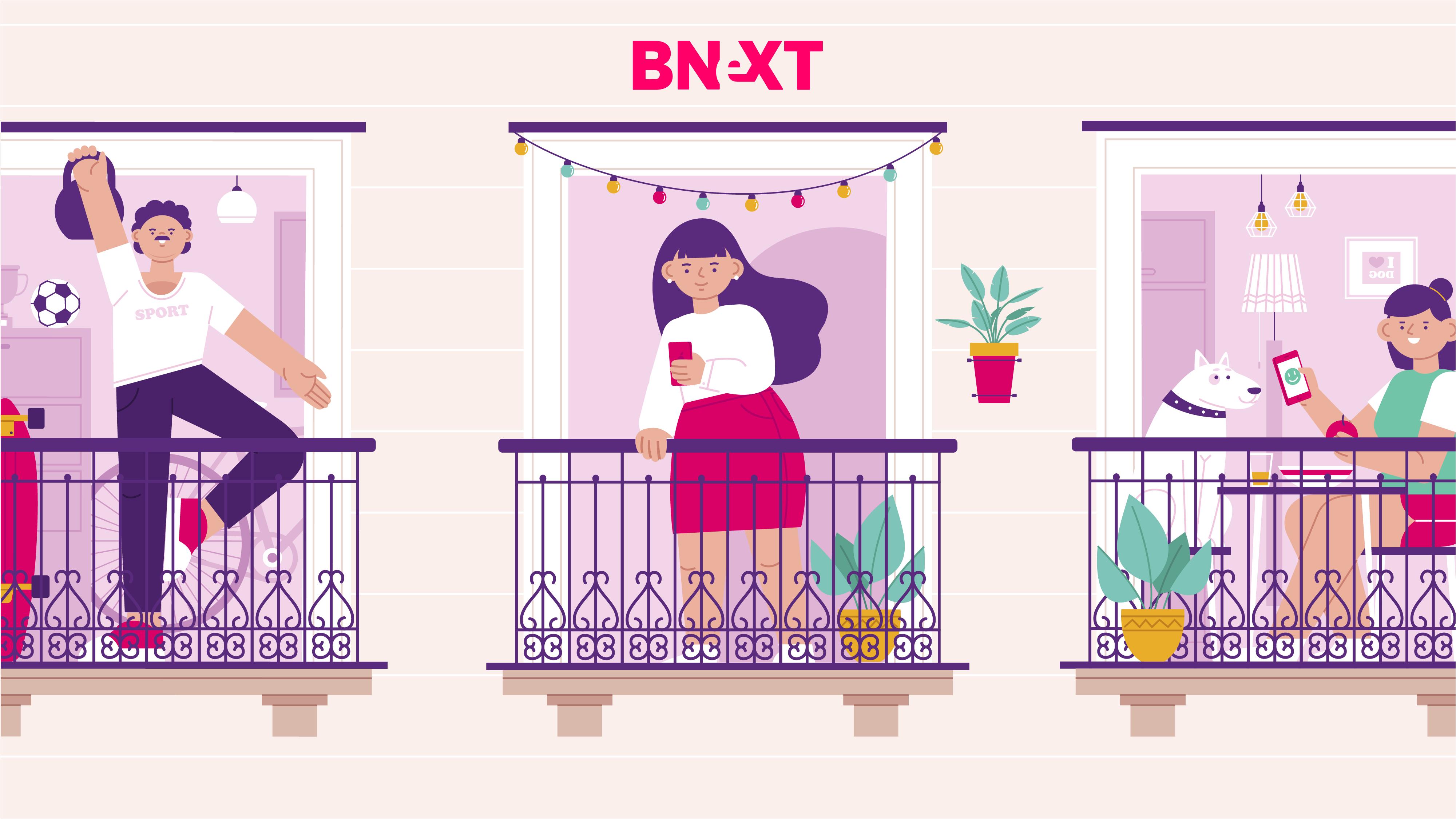 """Bnext lanza """"La Casa por la Ventana"""" para amenizar la cuarentena"""