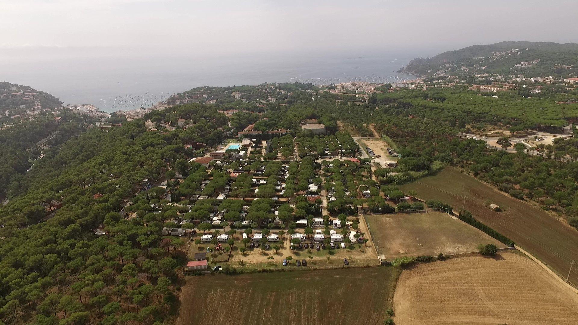 Foto de Vista aérea de Kim's Camping