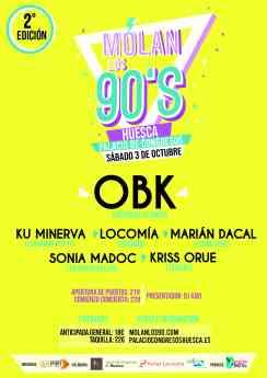 Carte Molan Los 90 - Huesca