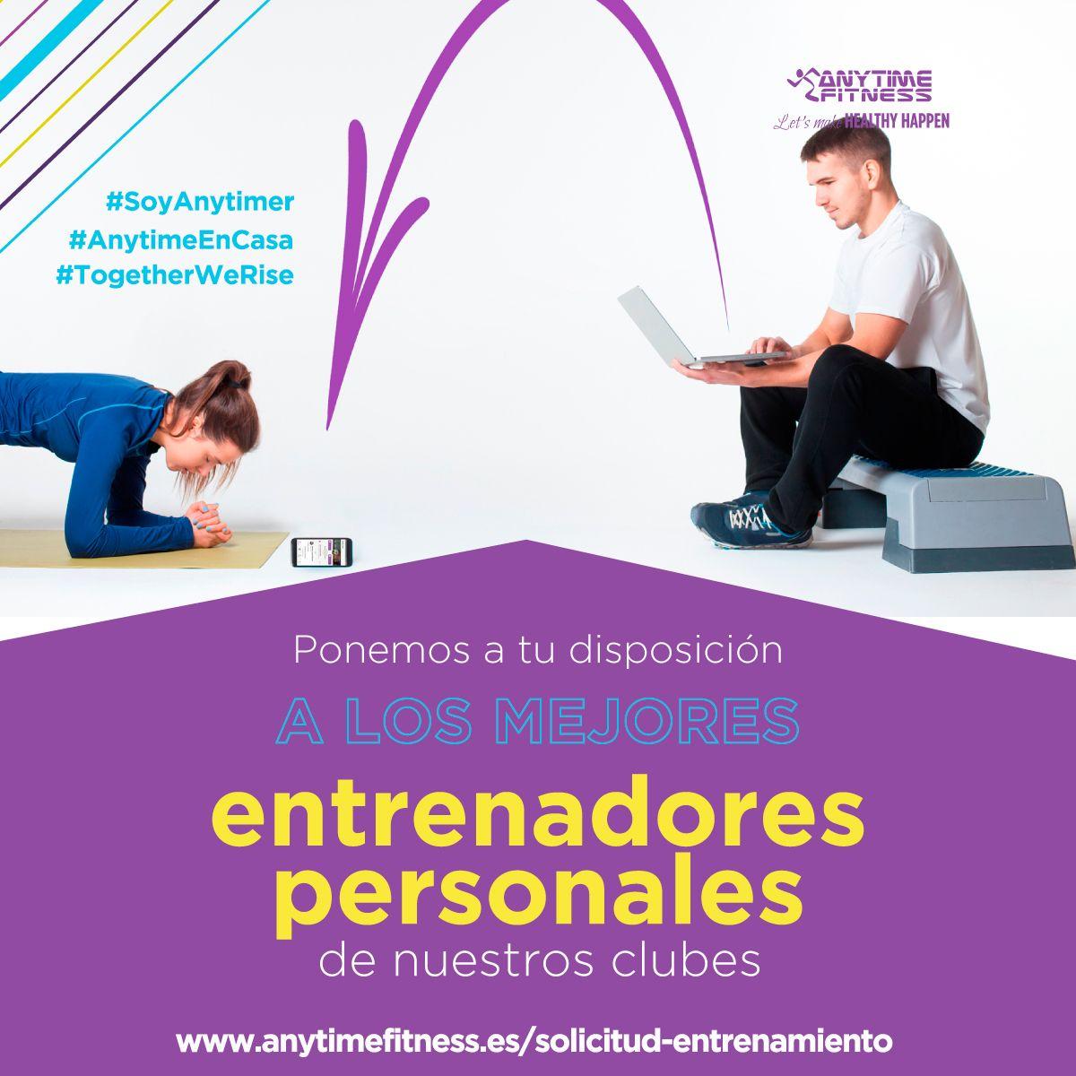 Anytime Fitness reinventa su 365 x 24. Ahora es online