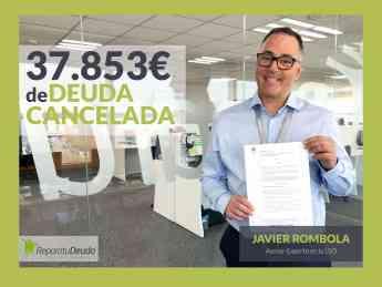 Javier Rombola, asesor experto en la ley de la Segunda Oportunidad en Repara tu deuda abogados