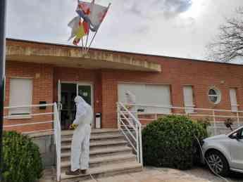 Foto de Acciones desinfección en Almonacid de Zorita