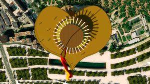 Foto de edificio torre con forma de corazon - heart shaped tower