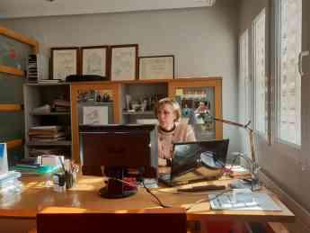 Elena Guijarro, decana de COACM