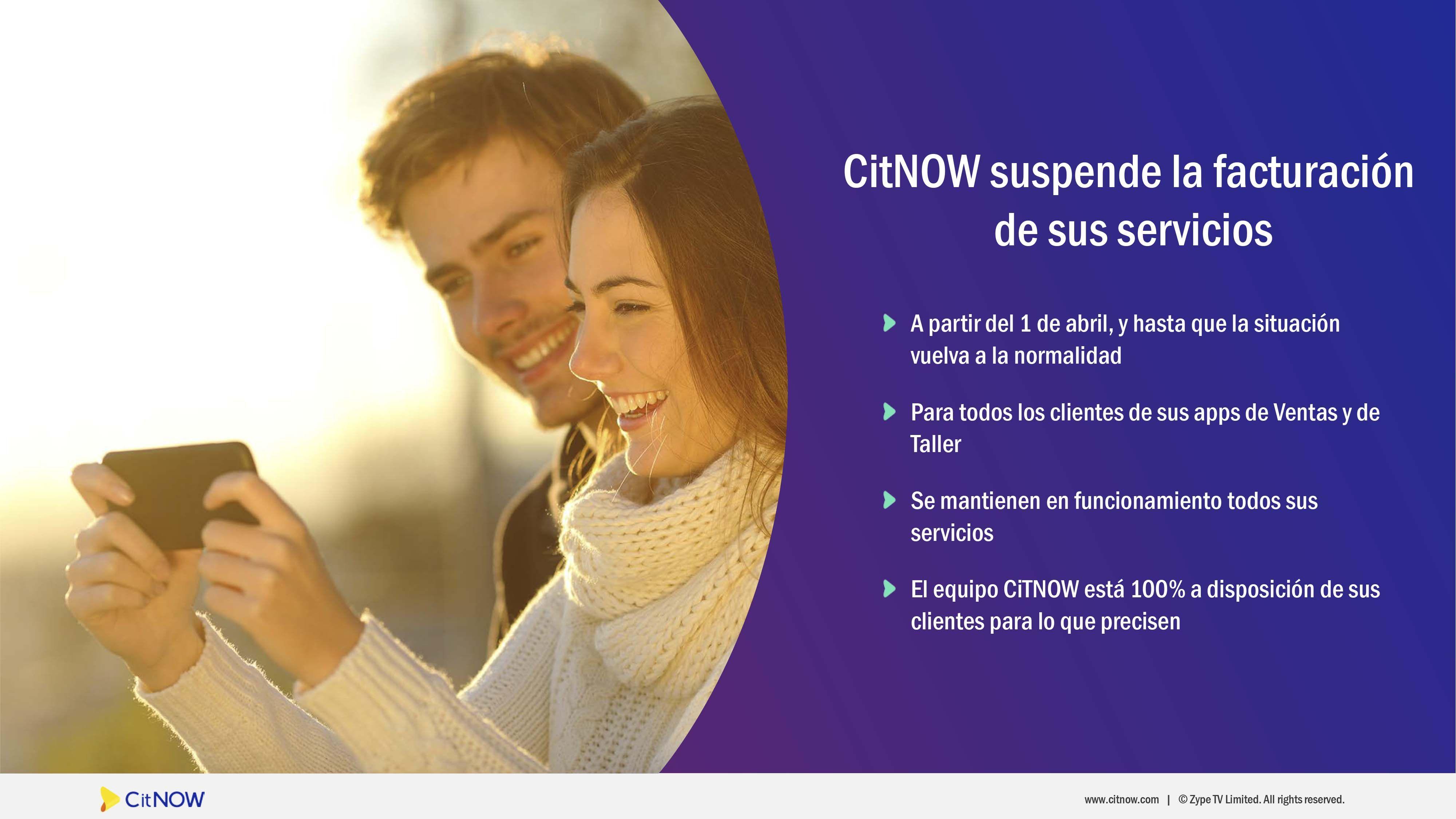 CitNOW lanza un plan de ayuda para concesionarios y marcas de automóviles