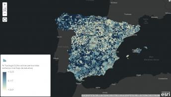 AIS Group y Esri aportan a la lucha contra el Coronavirus el mapa de población de mayores de 65 años