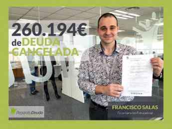 Francisco Salas, asesor de la ley de la segunda oportunidad en Repara